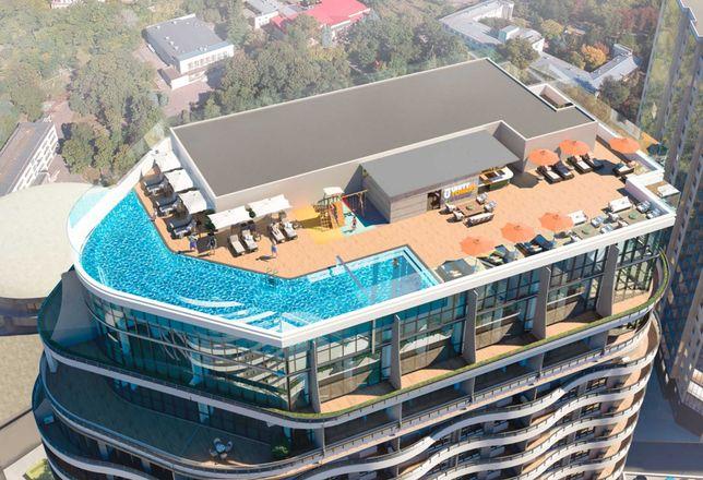 Продам 3 комн. квартиру в Аркадии, 101 м2, с террасой 17 м2, 2 балкона