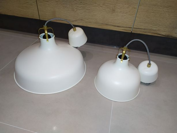 Żyrandol Ikea Ranarp 23cm i 38cm