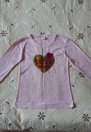 Кофта для девочки подростка на возраст 10-12 лет