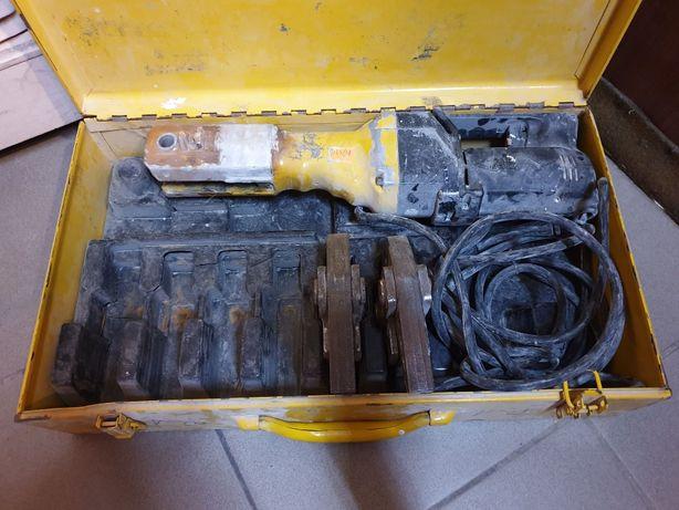 Elektryczna Zaciskarka do rur REMS + 2 Cęgi Zaciskowe + Walizka
