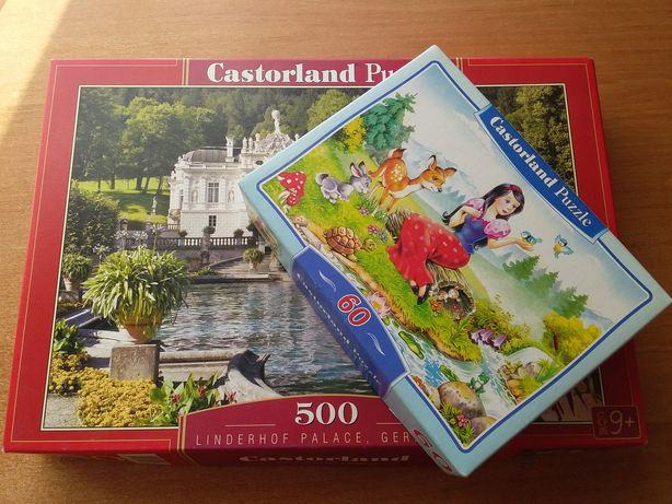 """Пазлы """"Замок"""" 500 эл. Castorland + Подарок"""