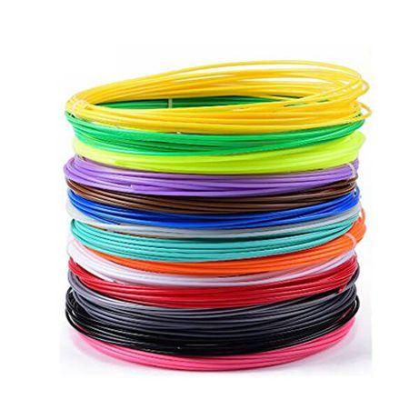 Пластик для 3D ручки PLA (11 цветов, 110 метров) Это- Выгодно)