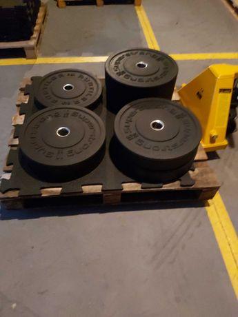 Obciążenie ogumowane bumpery 100 kg. Najlepsza jakośc na rynku