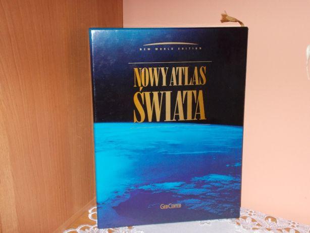 PROMOCJA Nowy Atlas Świata New world edition wydanie limitowane NOWY