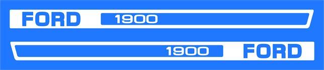 Kit autocolantes trator Ford - vários modelos