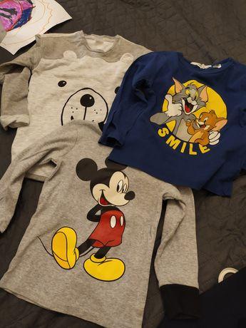 Zestaw koszulek h&m 98-104