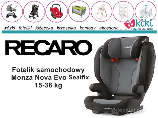 Fotelik samochodowy dla dziecka Monza Nova Evo Seatfix 15-36 kg