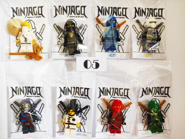 8 Figuras comp. LEGO NINJAGO Super Heróis Várias MINIFIGURAS