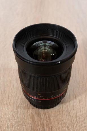 Obiektyw Samyang 16 f2 Canon