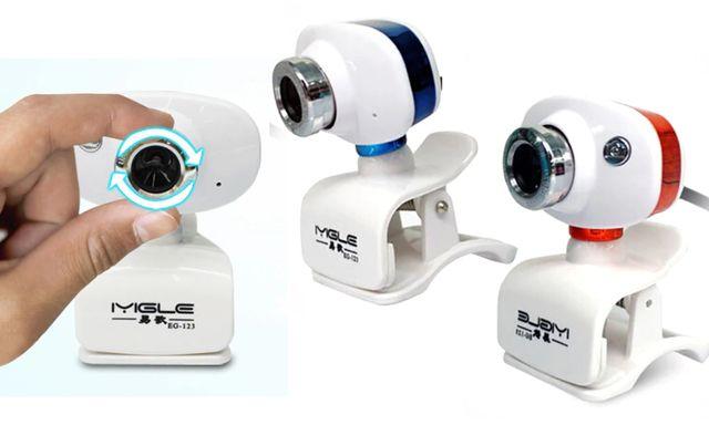 Kamera Kamerka Internetowa HD Mikrofon do Lekcji Pracy online nauki