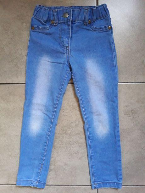 PEPCO spodnie jeansy dla dziewczynki 104cm