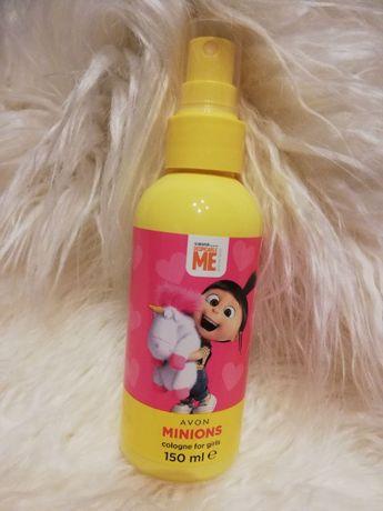 Woda zapachowa mgiełka dla dzieci dla dziewczynek Minions Minionki Avo