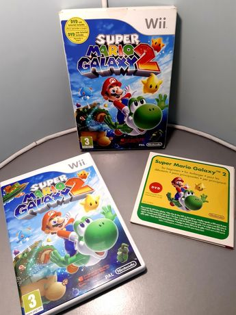 Jogo Super Mario Galaxy 2 para a Nintendo Wii + caixa e DVD tutorial