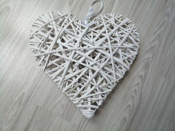 Ślub serca białe 40x40 Nowe