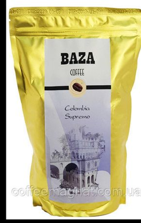 Кава в зернах (Кофе в зернах) Baza Колумбія Супремо (арабіка) 500 г
