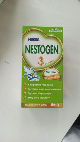 смесь Nestle nestogen 3 с 12 месяцев. 350гр.