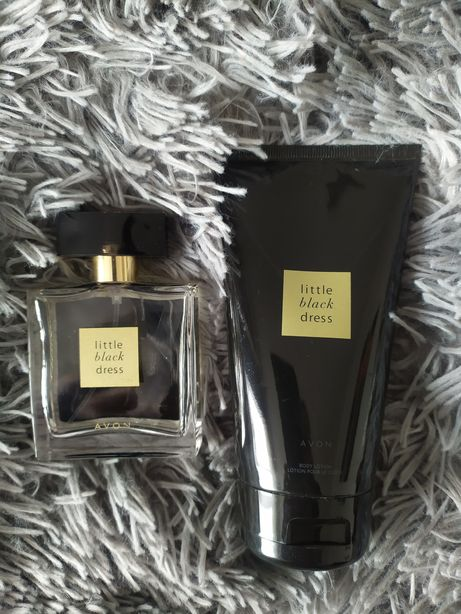 AVON Little Black Dress zestaw perfumy balsam do ciała