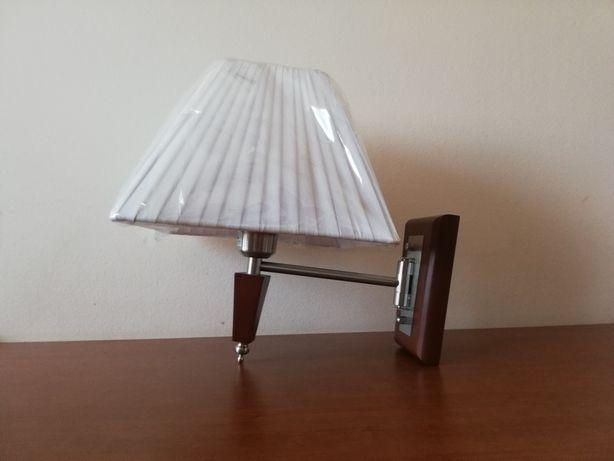 Lampa Light Prestige kinkiet biały klosz NOWE