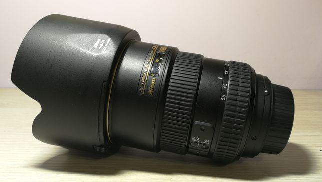 Obiektyw Nikon Nikkor 17-55 f/2.8 G ED
