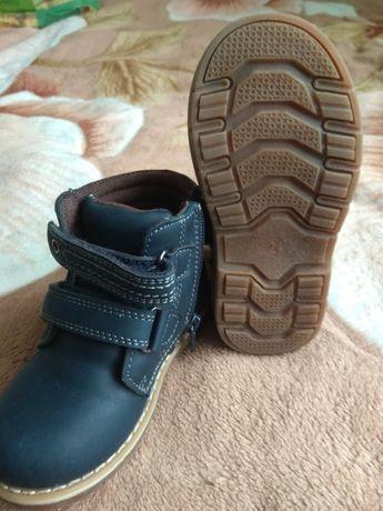 Детские ботинки зима