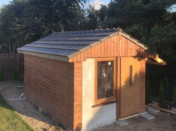 OCIEPLANY Domek drewniany, narzędziowy,garaż,altana,magazyn,carport