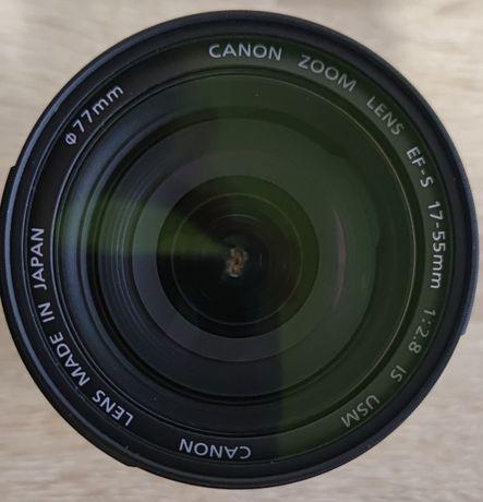 Обьектив CANON LENS EF-S 17-55 mm 1:2.8 IS USM + Светофильтр RAYLAB