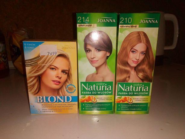 Farby do włosów i rozjaśniacz