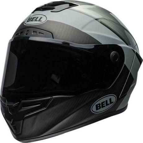 Kask Bell RaceStar Carbon3K- Surge Brushed Metal/Grey, L NOWY+Cz. Wizj
