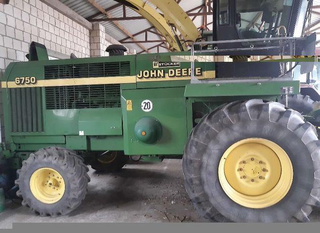 Części do sieczkarni John deere 6750