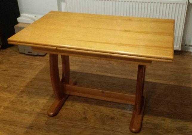 Stół drewniany rozkładany sosnowy