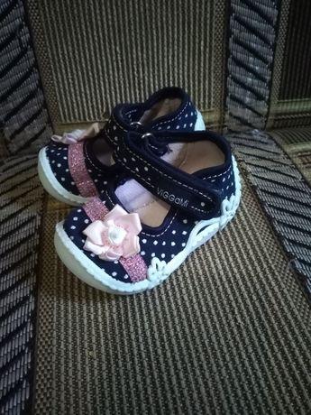 Туфельки обувь детские для малышей