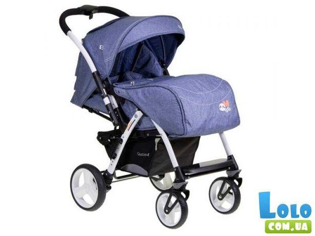 Детская Прогулочная коляска Quatro Monza 11 Jeans 9013859 (синяя)