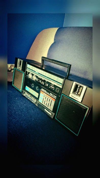 Ghettoblaster Panasonic Radio VINTAGE lata 80 90 stan bardzo dobry Głubczyce - image 1