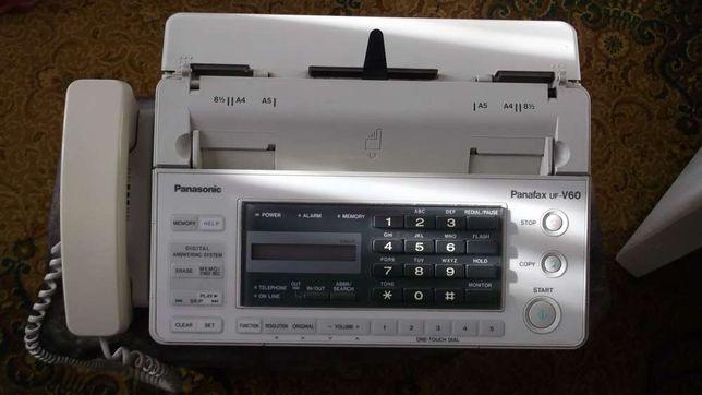 Продам телефон-факс PanasonicПанасоник Panafax uf-V60