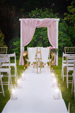 Aranżacja ślubu w plenerze