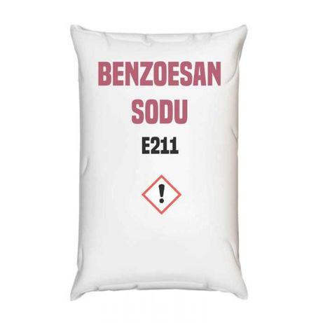 Benzoesan sodu spożywczy E211, konserwant granulki– 25–24000 kg–Kurier