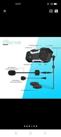 Sistema bluetooth para capacete , distância de 1km entre Ryders