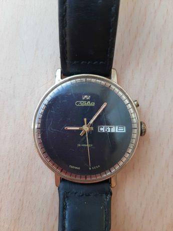 часы Слава 26 камней наручные СССР / антикваріат/ годинник наручний