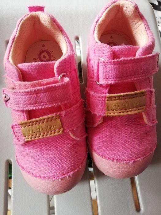Buty ddstep r 24 różowe kapcie Legnica - image 1
