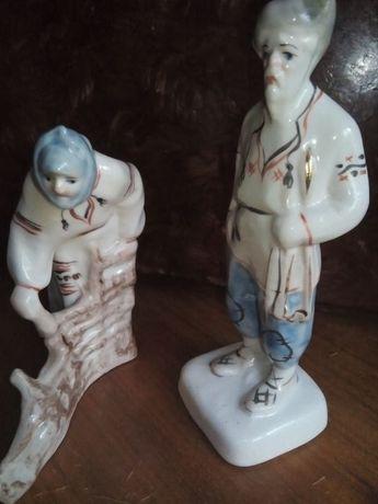 статуэтка дед с бабкой барановка З Х К