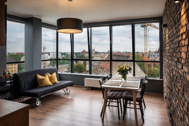 Apartament na doby Wrocław - Odra Tower - 4 pokoje - 10 osób - Garaż