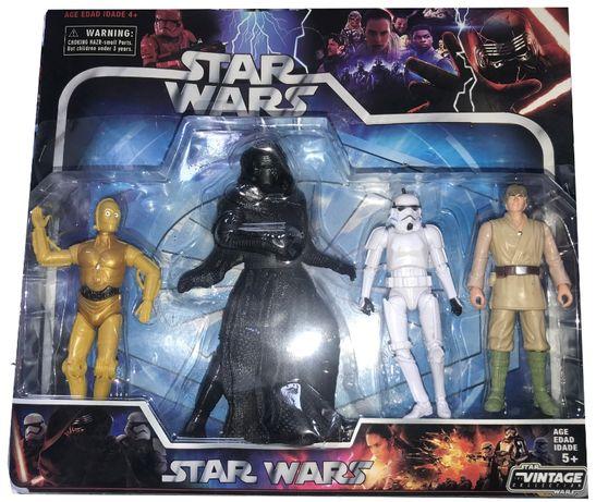 Zestaw 4 Figurek Star Wars 3