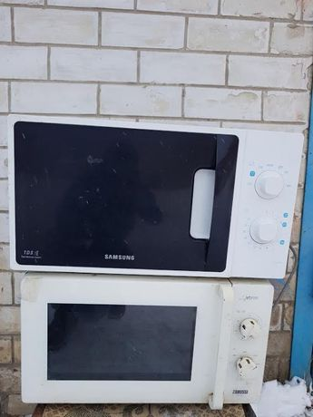 Микроволновка Samsung ME712AR, ZANUSSI ZM 21 MO