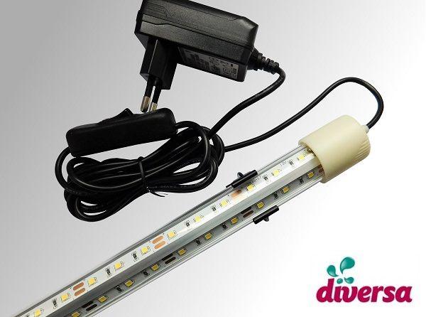 Oświetlenie LED do pokryw akwarium dł od 40cm/50/60/80/100/120/150/200