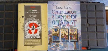 Livros de Astrologia, Tarot auto ajuda e outras ciencias.