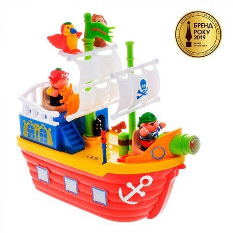 Музыкальная игрушка пиратский корабль kiddieland