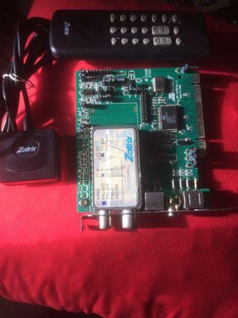 Placa PCI de tv analogica mas tb dá os canais,da marca ZOLTRIX