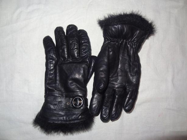 Зимние перчатки из высококачественной овечьей кожи