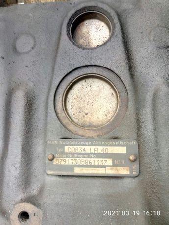 Двигатель Man D0834 по запчастям