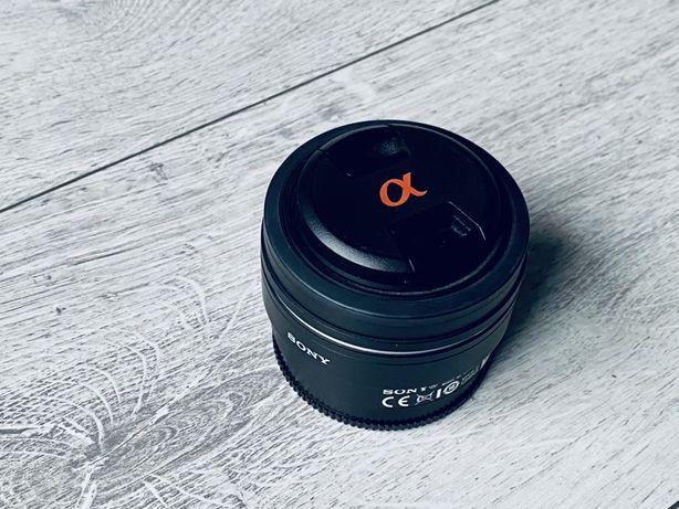 Obiektyw portretowy Sony 50mm f/1.8